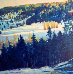 """""""Light on the Winter Meadow."""" By Ken Elliot"""