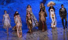 Front Row, L to R: Stella Tennant, Kate Moss, Naomi Campbell, Jourdan Dunn, David Gandy. Back Row, L to R: Lily Cole, Karen Elson, Lily Donaldson and Georgia May Jagger