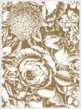 Anna Griffin Repousse Background rubber stamp.