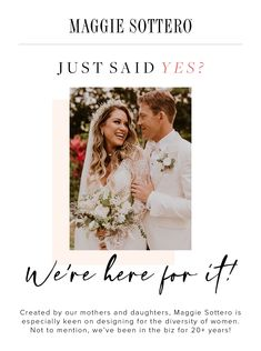 We're here for it! Let Maggie Sottero help you find the dress of your dreams. We are super fans of brick and mortar and here to help you support your local boutiques! Click to book your virtual or in person appointment today!  #virtualappointmnets #brickandmortar #supportlocal #findyourdress #maggiesottero #weddingdressshopping #engaged #bridestobe Maggie Sottero Wedding Dresses, Affordable Wedding Dresses, Wedding Dress Shopping, Boutiques, Bridal Gowns, Brick, Fans, Daughter, Dreams