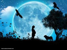 Searching for Serendipity: Blue Moon, You Saw Me Standing Alone