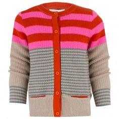 Stella McCartney Kids Multi-Color Chunky Cardigan