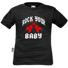 T-shirt enfant : ROCK YOUR BABY