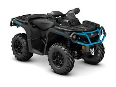 """New 2016 Can-Am Outlander XT 850 Matte Black & Octane ATVs For Sale in Florida. 2016 Can-Am Outlander XT 850 Matte Black & Octane, 2016 CAN-AM® OUTLANDERâ""""¢ XT 850 MATTE BLACK & OCTANE BLUEWELL-PREPARED WITH FACTORY-INSTALLED FEATURES.Expand your off-road capabilities with added features – and added value. Well equipped with Tri-Mode Dynamic Power Steering (DPS), a 3,000-lb winch, and heavy-duty front and rear bumpers.Features may include:ROTAX V-TWIN ENGINE OPTIONSCATEGORY-LEADING…"""
