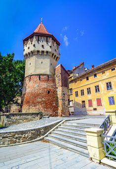 Visit The Carpenters' Tower Sibiu Tour Around The World, Around The Worlds, Sibiu Romania, Group Tours, Travel Tours, Eastern Europe, Horseback Riding, Carpenter, Places To Go