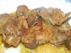 Finger Lickin Chicken Gizzards from Food.com: These gizzards will melt in your mouth! You are in for a big treat!