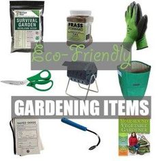 Eco-Friendly Garden by Of Houses and Trees | 'Tis the season! For gardening that is. Here are nine eco-friendly garden items - from seeds to shears - that every green thumb needs. Click through to read more on this project as well as posts about architecture, interior design and sustainability at www.ofhousesandtrees.com