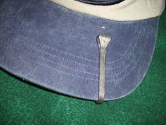 Horseshoe Nail Hat Pin by BulletsAntlersEtc on Etsy, $7.00  Hello horse lovers, check this out