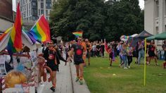A Pride event is held for the first time in a decade in Southampton.