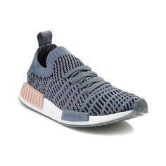Womens adidas NMD R1 Athletic Shoe - Gray/Blue - 436530