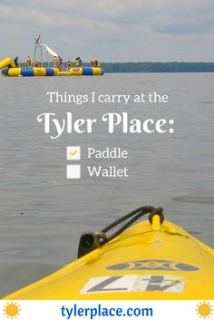 Paddle? Check. That's all you need.
