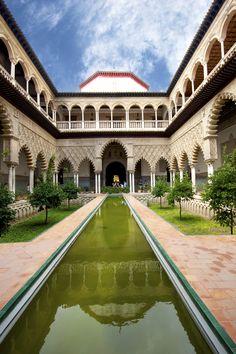 Real Alcázar de Sevilla in Sevilla, Andalucía