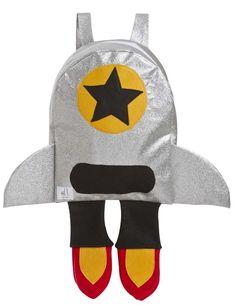 A meninada vai adorar essa mochila de foguete superdescolada!