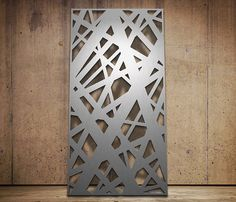 Decorative metal panel / for facades CROSSHATCH Miles and Lincoln Ltd