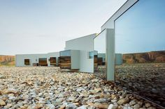 a sustainable hotel in the semidesert of Navarre. Design López and Rivera…