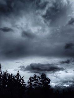 Overcast over Lynden.