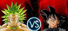 Dragon ball Super Black Goku vs Broly