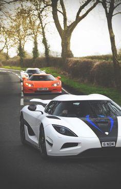 Koenigsegg x 3