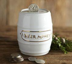 Beer Money Bank | Pottery Barn