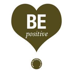 Be Positive www.be-different.com Dares, Flexibility, Presents, Positivity, Joy, Logos, Simple, Unique, Creative