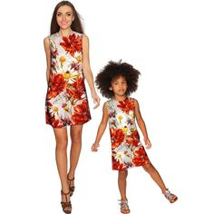 In The Wheat Field Adele Shift Floral Mommy and Me Dresses