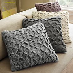 Sculpted Origami Pillow Cover | west elm