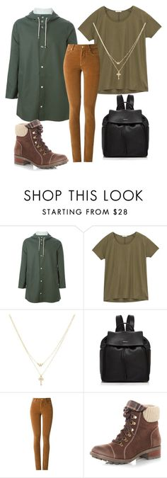 """""""#backtoschool 3"""" by zeniboo ❤ liked on Polyvore featuring Stutterheim, Lee, Betsey Johnson, DKNY, Amapô and Dorothy Perkins"""