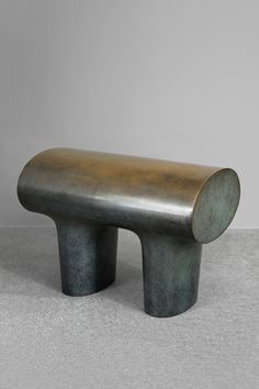 Isamu Noguchi, Hanna Eshel, Barbara Hepworth — these are the masters of marble who came to mind when we first saw Guillaume Delvigne's new stools.