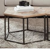 Found it at AllModern - Thornhill Hexagon Coffee Table