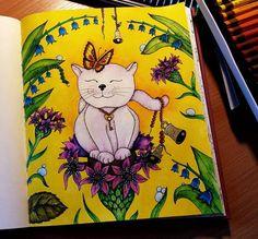 First one from Magical Delights (Čarovné lahodnosti) by Klára Marková, Derwent Inktense and Mungyo watercolour crayons #magicaldelights #carovnelahodnosti #klaramarkova #omalovanky #omalovankyprodospele #antistresoveomalovanky #pastelky #voskovky #posca #uniposca #derwent #derwentinktense #mungyo #pencils #coloredpencils #pencil #coloredpencil #coloring #colouring #adultcoloringbook #adultcolouringbooks #adultcoloring #adultcolouring #coloringbooks #colouringbooks #colouringbook…