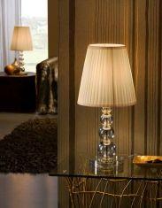 Lámpara de Sobremesa : Colección MERCURY CHAMPAGNE