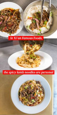 My xian famous spicy cumin lamb hand smashed noodles cumin lamb at xian famous foods a father and son connect over spicy lamb noodles forumfinder Image collections