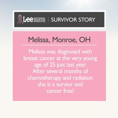 We're so grateful for courageous survivors and supporters like Melissa who rise above breast cancer.     Join Melissa and the Denim Day movement — donate today at http://denimday.com.