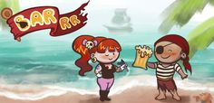 Barrr is a cute and fast time-management game where you run your own pirate bar. Good reflexes and quick decision making are needed to keep your customers happy and your coffers loaded with booty. Serve the pirates ale, ink their skins and let them rock out on guitars, while you make sure that none pee on your clean deck! Available for iOS and Android!