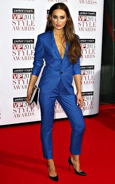 POWER SUIT Purcell: Model Roz to launch new range of women's suits after wowing on the red carpet - EVOKE.ie - Roz Purcell in a suit that she helped to design Cool Suits, Women's Suits, Carpet Design, Occasion Wear, Design Model, Suits For Women, My Wardrobe, Home Interior Design, Red Carpet
