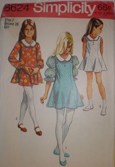 Vintage 1969 Sewing Pattern by Simplicity  by VINTAGEShopsDelight, $6.00