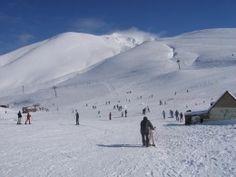 Skiing at the Politses Ski Centre
