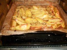 Foto del paso 3 de la receta Patatas asadas al limón griegas Dips, Brunch, Gluten Free, Primers, Meat, Chicken, Food, Vegetarian, Roasted Potato Recipes