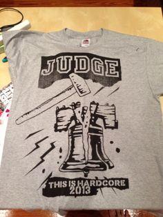 Judge This is Hardcore 2013 T-Shirt