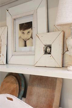 Reclaimed wood shabby chic picture frame 5x7 by mysweetsavannah, $58.00