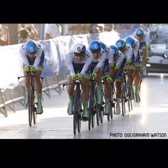 Just one second!  OGE finish 3rd place in La Vuelta TTT - just 1second separated top three.  #OGErocks #LV2015 #LaVuelta #soclose by orica_greenedge