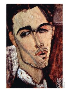 Portrait of Celso Laga Art Print by Amedeo Modigliani at Art.com