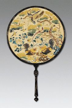 Exquisite and culturally rich Chinese traditional crafts - hand fan - Page 32 of 34 - zzzzllee Hand Held Fan, Hand Fans, Antique Fans, Vintage Fans, Stone Age Art, Art Deco Vanity, Chinese Fans, Chinese Embroidery, Moon Shapes