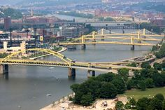 Allegheny River Bridges - Pittsburgh