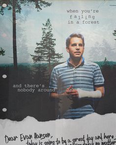 walking on moonbeams — all you want is for somebody to find you when. Theatre Nerds, Musical Theatre, Dear Evan Hansen Musical, Dear Even Hansen, Connor Murphy, Ben Platt, Hansen Is, The Rocky Horror Picture Show, Out Of Touch