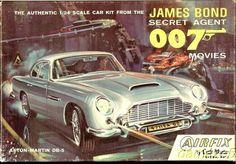 James Bond 007 Aston-Martin DB-5 by Airfix: