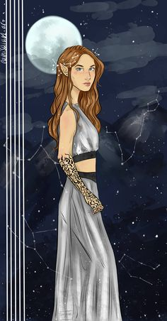 "camisala01-art: ""Feyre! From the A Court of Thorns and Roses books by @sjmaas . """