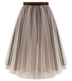 Elegant Office Tulle Skirt                                                                                                                                                     More