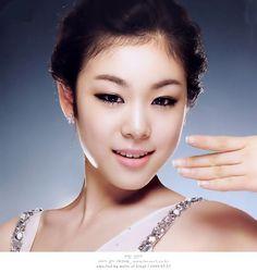 kim yuna - korean ice skater