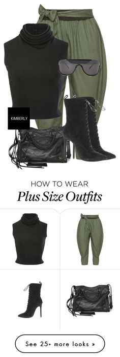 """Untitled #3403"" by kimberlythestylist on Polyvore featuring Isolde Roth, Brandon Maxwell, Balenciaga and Acne Studios"